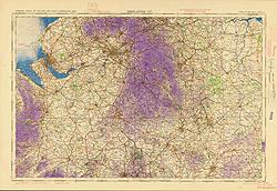 Ordnance Survey of England and Wales (Aeronautical map)